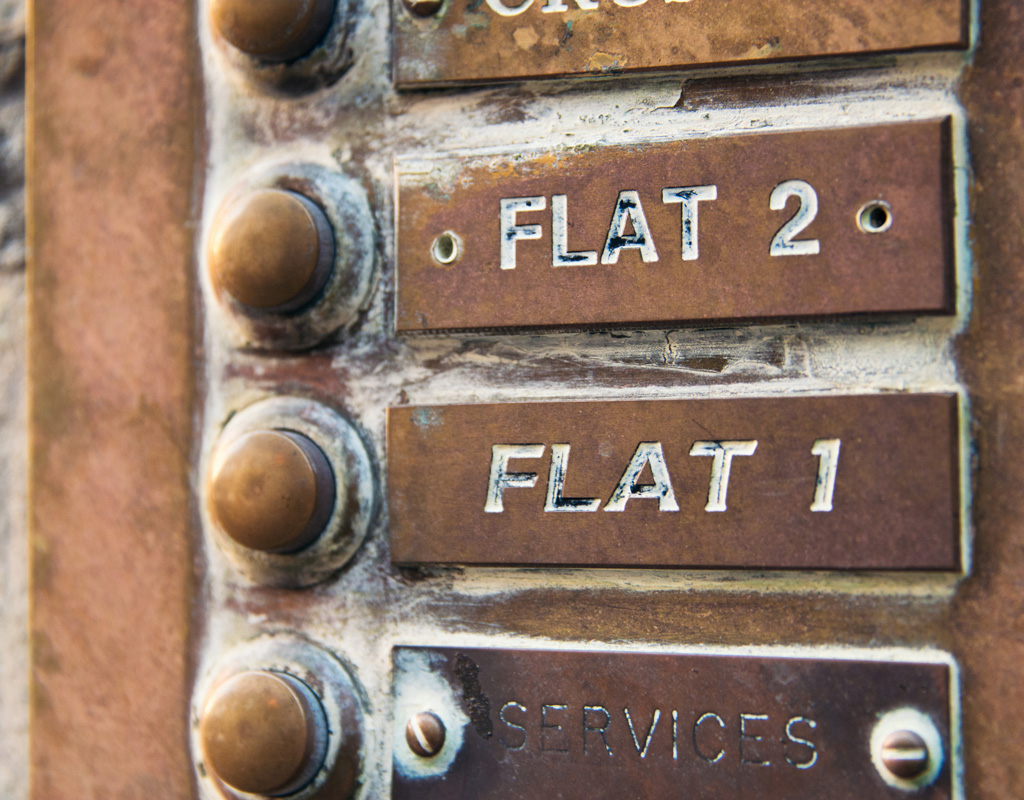 Lease Extension for these flats will increase their value. Photo © George Clerk. istock